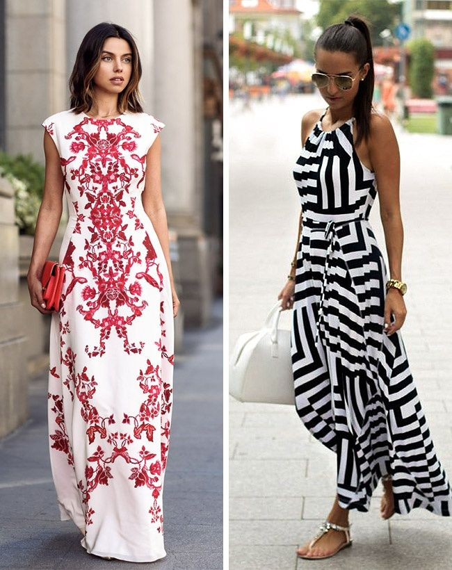 Nine style tips on how to wear maxi dresses