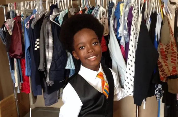 This Kid Opened Up A Thrift Store For Low-Income Families Where Everything's