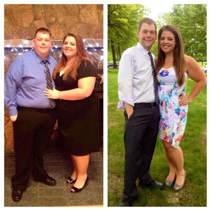 17 Inspiring Photos of Couples Before and After Major Changes